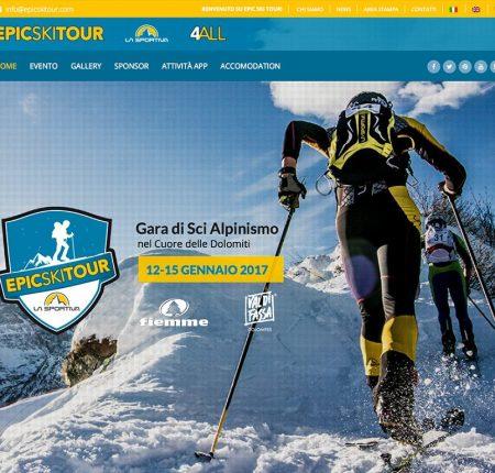 Creazione sito web Sci Alpinismo