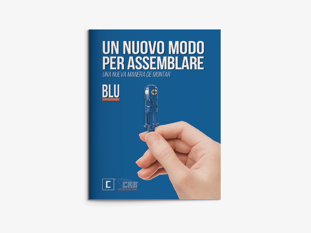 Brochure promozione prodotto – Blu
