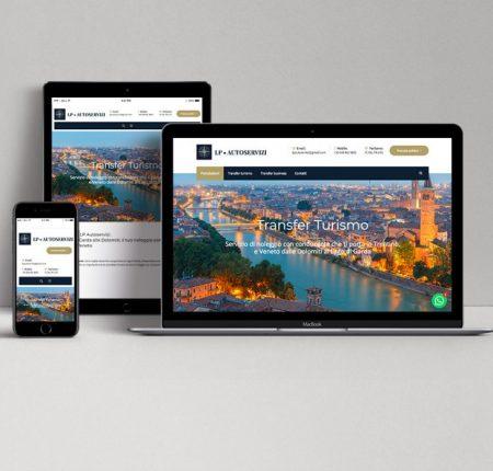 Sito web con prenotazione – NCC Trento