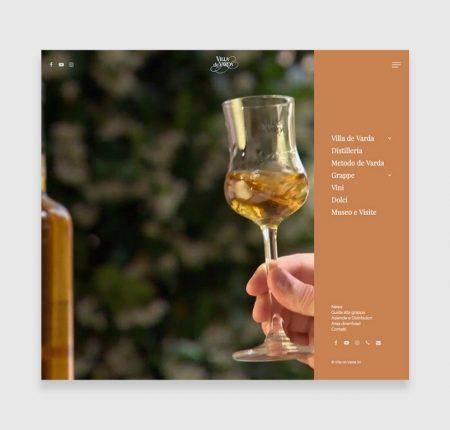 Creazione sito web Villa de Varda